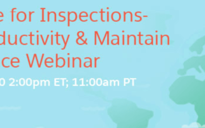 Webinar: How Salesforce Maps and ExAM4Inspections can help the Federal Government to Increase Savings and Productivity by 40%